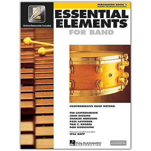 Hal Leonard Essential Elements for Band - Percussion and Keyboard Percussion 1 Book/Online Audio-thumbnail