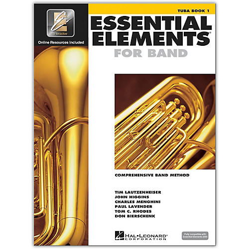 Hal Leonard Essential Elements for Band - Tuba (Book 1 with EEi)-thumbnail