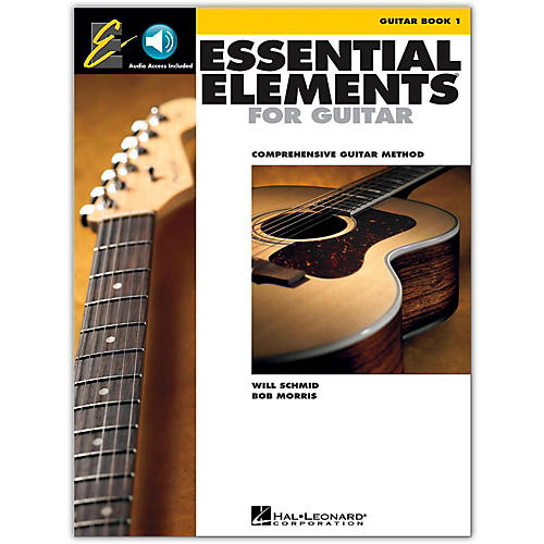 hal leonard essential elements for guitar book 1 book and online audio guitar center. Black Bedroom Furniture Sets. Home Design Ideas