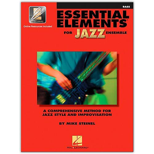 Hal Leonard Essential Elements for Jazz Ensemble - Bass (Book/Online Audio)-thumbnail