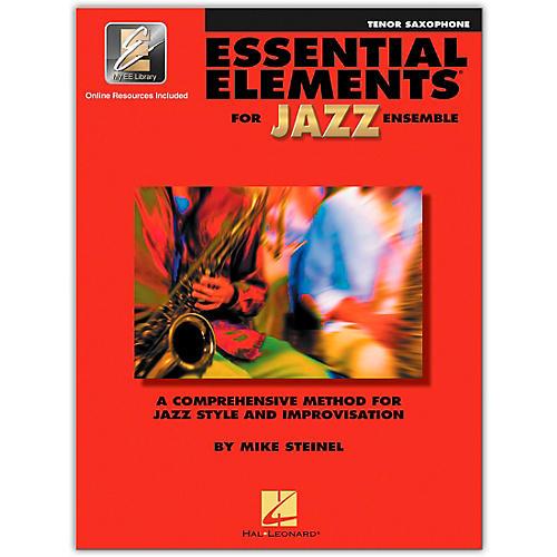 Hal Leonard Essential Elements for Jazz Ensemble - Bb Tenor Saxophone (Book with EEi)