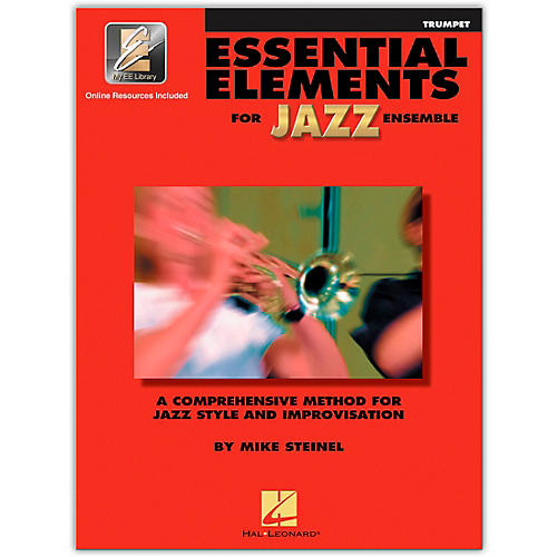 Hal Leonard Essential Elements for Jazz Ensemble - Bb Trumpet (Book/Online Audio)-thumbnail