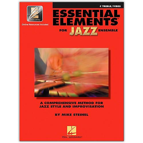 Hal Leonard Essential Elements for Jazz Ensemble - C Treble Vibes (Book/Online Audio)-thumbnail