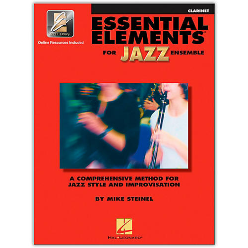 Hal Leonard Essential Elements for Jazz Ensemble - Clarinet (Book/Online Audio)-thumbnail