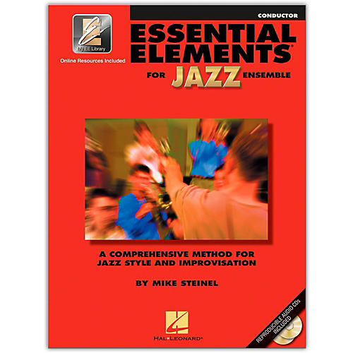 Hal Leonard Essential Elements for Jazz Ensemble - Conductor (Book with CD)