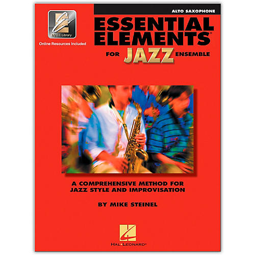 Hal Leonard Essential Elements for Jazz Ensemble - Eb Alto Saxophone (Book/Online Audio)-thumbnail