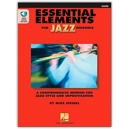 Hal Leonard Essential Elements for Jazz Ensemble - Flute (Book/Online Audio)