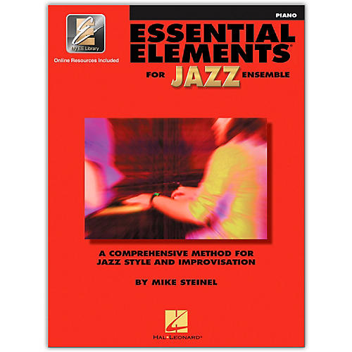 Hal Leonard Essential Elements for Jazz Ensemble - Piano (Book/Online Audio)-thumbnail