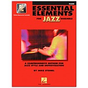 Hal Leonard Essential Elements for Jazz Ensemble - Piano (Book with EEi)