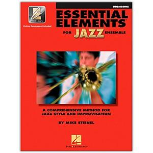 Hal Leonard Essential Elements for Jazz Ensemble - Trombone Book/Online Au...