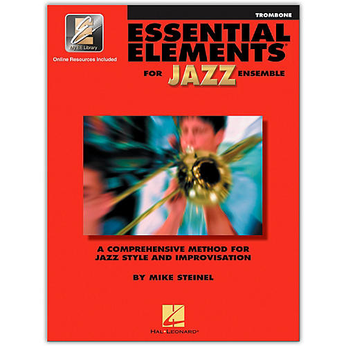 Hal Leonard Essential Elements for Jazz Ensemble - Trombone (Book/Online Audio)-thumbnail
