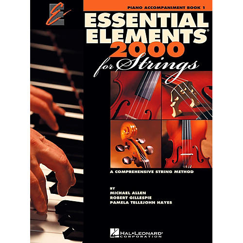 Hal Leonard Essential Elements for Strings - Piano Accompaniment (Book 1)-thumbnail
