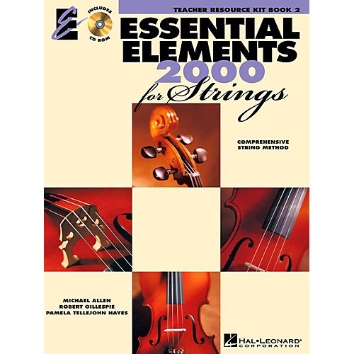 Hal Leonard Essential Elements for Strings - Teacher Resource Kit (Book 2 with CD-ROM)-thumbnail