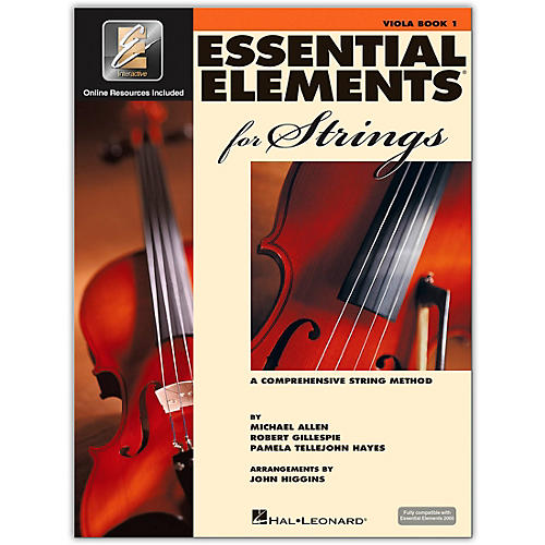 Hal Leonard Essential Elements for Strings - Viola (Book 1 with EEi)-thumbnail