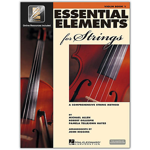 Hal Leonard Essential Elements for Strings - Violin 1 Book/Online Audio-thumbnail