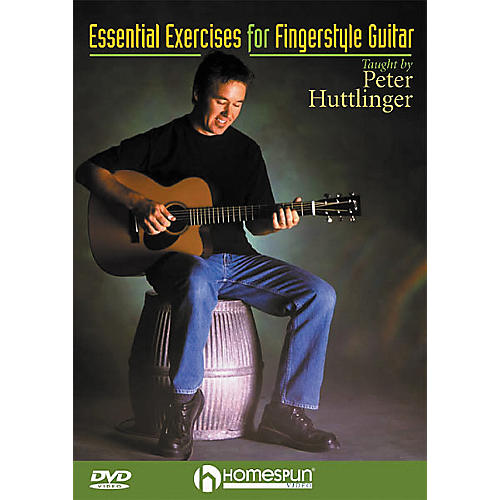 Homespun Essential Exercises for Fingerstyle Guitar (DVD)