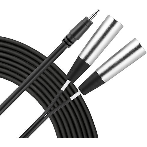 Livewire Essential Interconnect Y-Cable 3.5 mm TRS Male to XLR Male