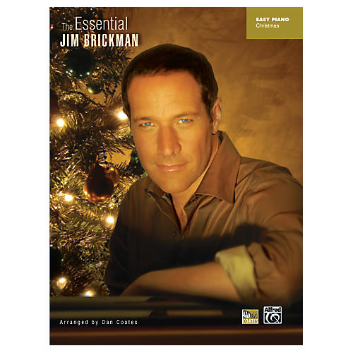 Alfred Essential Jim Brickman Christmas Easy Piano Book
