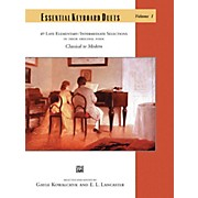 Alfred Essential Keyboard Duets, Volume 1 Late Elementary / Intermediate