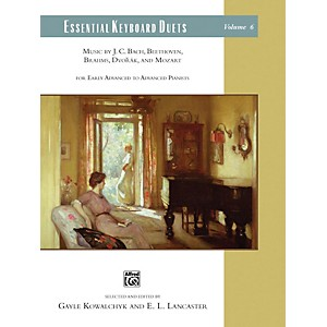 Alfred Essential Keyboard Duets, Volume 6 Early Advanced / Advanced by Alfred