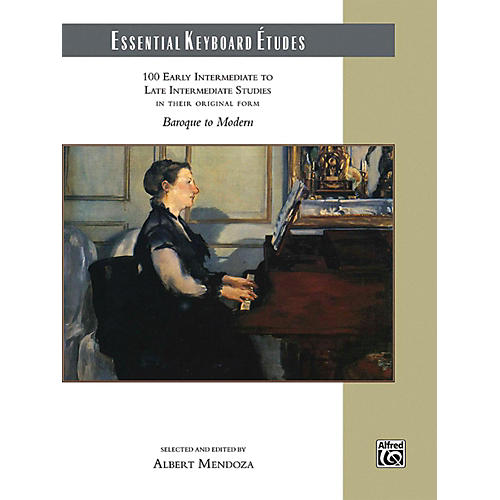 Alfred Essential Keyboard Etudes Comb Bound Book Early Intermediate to Late Intermediate-thumbnail