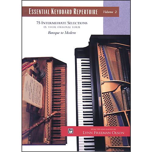 Alfred Essential Keyboard Repertoire Volume 2-thumbnail