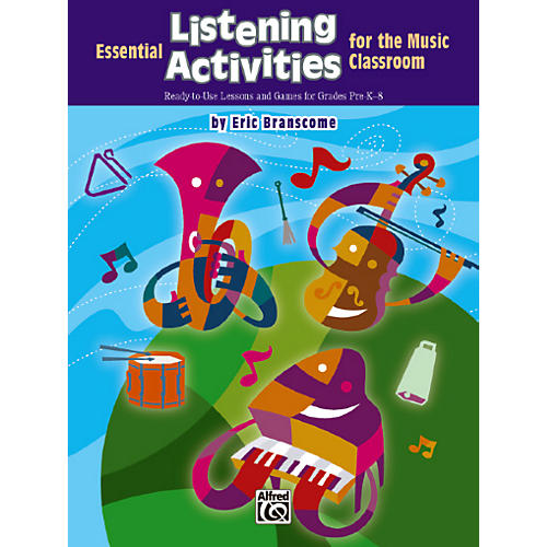 Alfred Essential Listening Activities for the Classroom Book-thumbnail