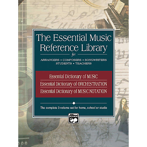 Alfred Essential Music Reference Library - 3 Book Set