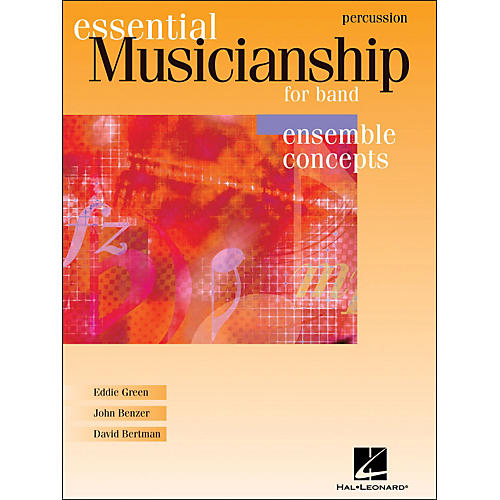 Hal Leonard Essential Musicianship for Band - Ensemble Concepts Percussion