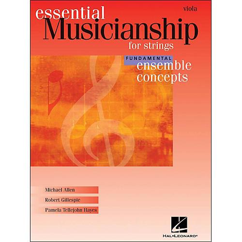 Hal Leonard Essential Musicianship for Strings - Ensemble Concepts Fundamental Viola-thumbnail