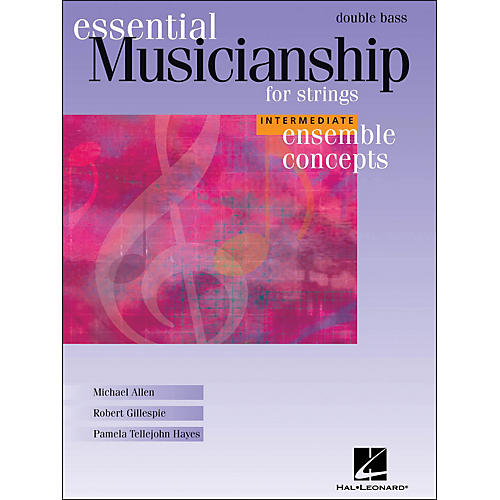 Hal Leonard Essential Musicianship for Strings - Ensemble Concepts Intermediate Double Bass-thumbnail