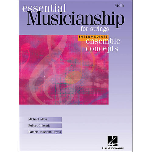 Hal Leonard Essential Musicianship for Strings - Ensemble Concepts Intermediate Viola-thumbnail