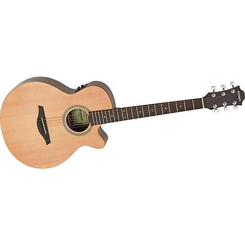 Hohner Essential Plus Mini Jumbo Acoustic-Electric Guitar-thumbnail