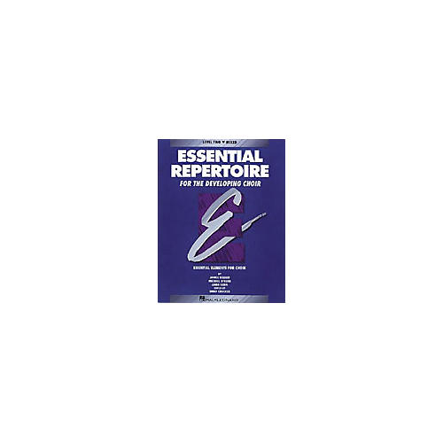 Hal Leonard Essential Repertoire for the Developing Choir Mixed Perf/Acc CDs (2) Composed by Janice Killian