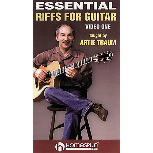 Homespun Essential Riffs for Acoustic Guitar (VHS)-thumbnail