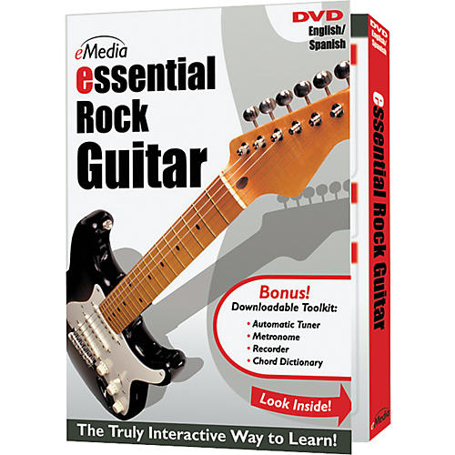 Emedia Essential Rock Guitar Instructional DVD-thumbnail