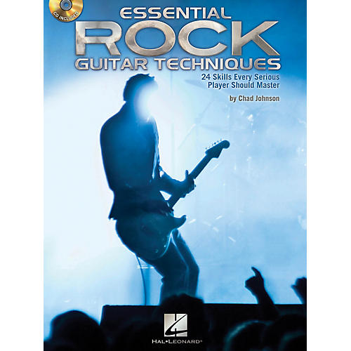 Hal Leonard Essential Rock Guitar Techniques 24 Skills Every Serious Player Should Master Book/CD-thumbnail