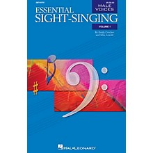 Hal Leonard Essential Sight-Singing Vol. 1 Male Voices (Male Voices Volume One Book) TB