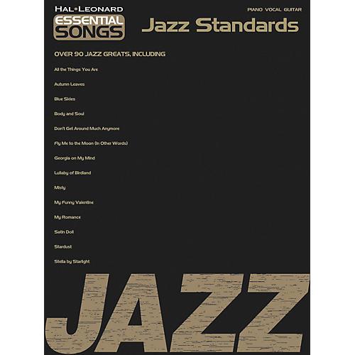 Hal Leonard Essential Songs - Jazz Standards Songbook-thumbnail