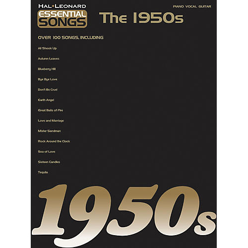 Hal Leonard Essential Songs - The 1950's Piano, Vocal, Guitar Songbook