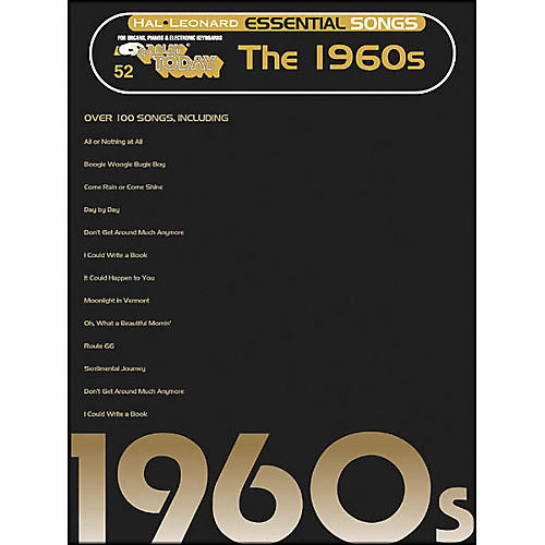 Hal Leonard Essential Songs - The 1960's E-Z Play 52-thumbnail
