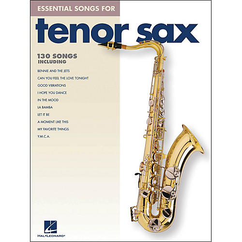 Hal Leonard Essential Songs For Tenor Sax-thumbnail