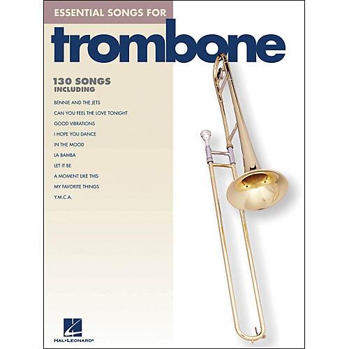 Hal Leonard Essential Songs For Trombone-thumbnail