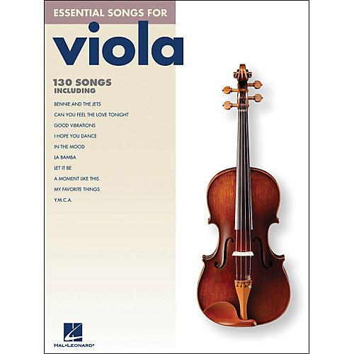 Hal Leonard Essential Songs For Viola