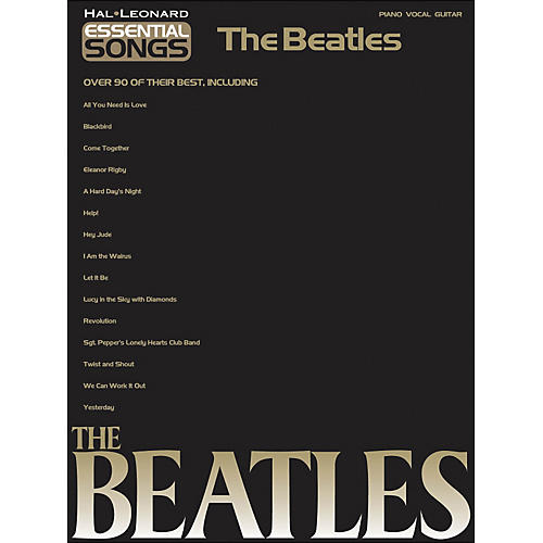 Hal Leonard Essential Songs The Beatles arranged for piano, vocal, and guitar (P/V/G)-thumbnail
