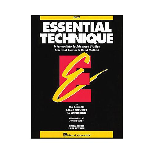 Hal Leonard Essential Technique Flute Intermediate To Advanced Studies-thumbnail