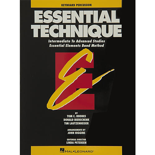 Hal Leonard Essential Technique Keyboard Percussion Intermediate To Advanced Studies-thumbnail