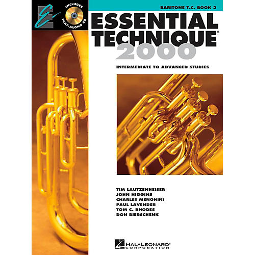 Hal Leonard Essential Technique for Band - Baritone T.C. (Book 3 with EEi)