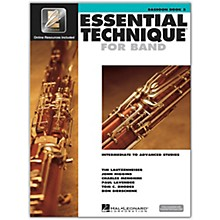 Hal Leonard Essential Technique for Band - Bassoon 3 Book/Online Audio