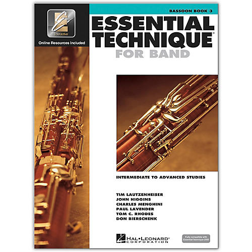 Hal Leonard Essential Technique for Band - Bassoon (Book 3 with EEi)